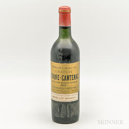 Chateau Brane Cantenac 1957, 1 bottle