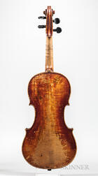 German Violin, Michael Boller, Mittenwald, 1800