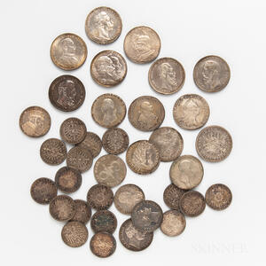 Group of German and German States Coins