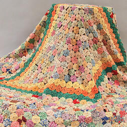 Printed Cotton Penny Quilt