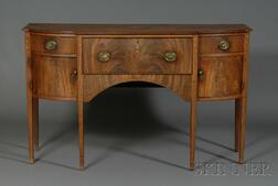 Federal Mahogany Inlaid Sideboard