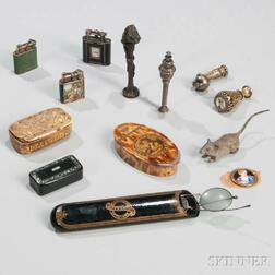 Thirteen Continental Personal and Smoking Accessories