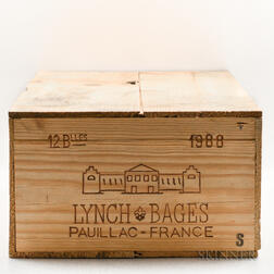Chateau Lynch Bages 1988, 12 bottles (owc)