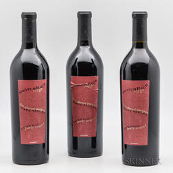 Switchback Ridge Peterson Family Vineyard Cabernet 2003, 3 bottles