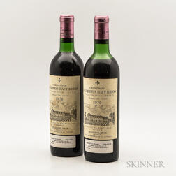 Chateau La Mission Haut Brion 1970, 2 bottles
