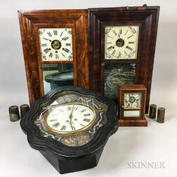 Three Connecticut Clocks