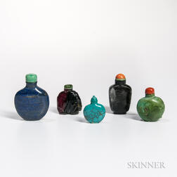 Five Stone Snuff Bottles