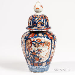 Imari Covered Jar