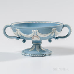 Wedgwood Tricolor Solid Jasper Footed Bowl
