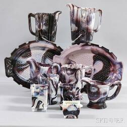 Eleven Pieces of Swirled Agate Glass Owned by Andy Warhol