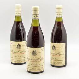 Albert Morot Beaune Cent Vignes 1985, 3 bottles