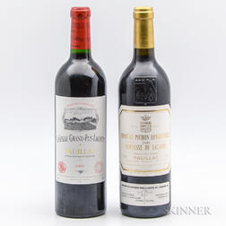 Mixed 2000 Bordeaux, 2 bottles
