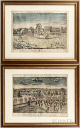Doolittle, Amos (1754-1832) Facsimile Reproduction Prints: Battle of Lexington and Concord Prints.