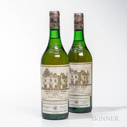 Chateau Haut Brion Blanc 1979, 2 bottles