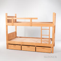 Charles Webb Oak Bunk Beds