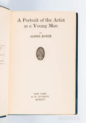 Joyce, James (1882-1941) A Portrait of the Artist as a Young Man.