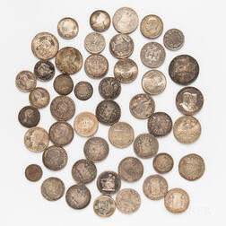 Group of Continental Silver Coins