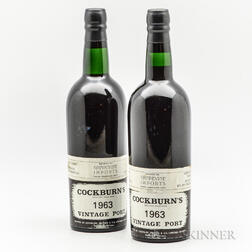 Cockburns 1963, 2 bottles