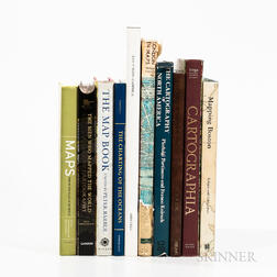 Ten Modern Books Relating to Maps and Cartography.