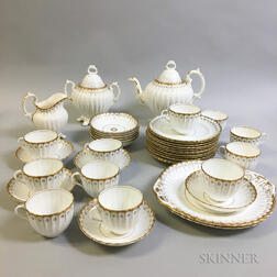 Continental Porcelain Partial Tea Service