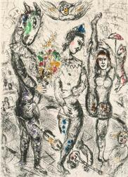 Marc Chagall (Russian/French, 1887-1985)      Le Pierrot