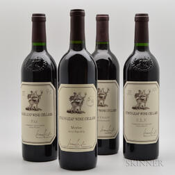 Stags Leap Wine Cellars, 4 bottles