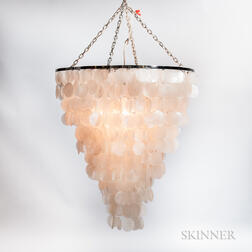 Uovo Seashell Hanging Lamp