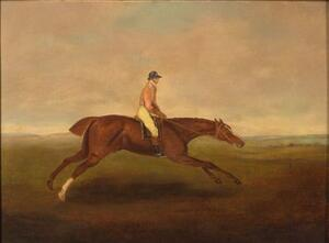 Manner of George Stubbs (British, 1724-1806)    Eclirse, 1770.