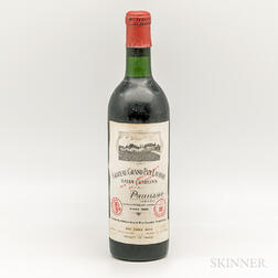 Chateau Grand Puy Lacoste 1966, 1 bottle