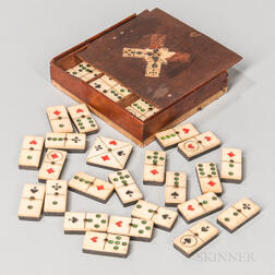 Set of Sailor-made Dominos