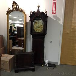 Georgian Mahogany Long Case Clock