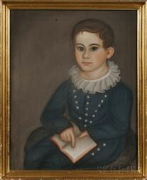 Susanna Paine (ac. Massachusetts, Connecticut, and Rhode Island, 1792-1862) Portrait of George Morillo Bartol, Aged 6 Years 7 Months...