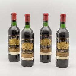 Chateau Palmer 1966, 4 bottles