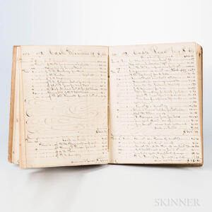 Boston Account Books and Banking Records Six Manuscript Volumes, 1849-1873.