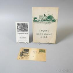 Three Pieces of Sagamore Hill Ephemera