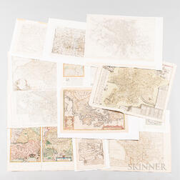 Seventy-one Maps of Europe