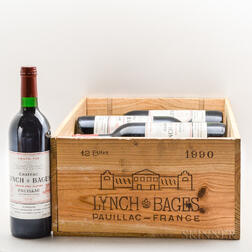 Chateau Lynch Bages 1990, 10 bottles