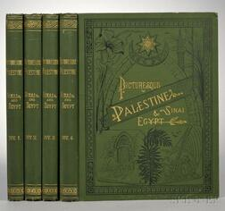 Wilson, Sir Charles William (1836-1905) Picturesque Palestine, Sinai, and Egypt.