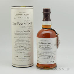 Balvenie 30 Years Old 1966, 1 750ml bottle (ot)