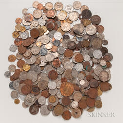 Group of Indian and British Coins