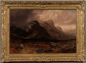 Clarence Henry Roe (British, 1850-1909)    Mountain Landscape