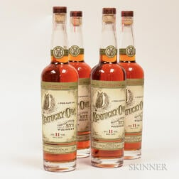 Kentucky Owl Rye 11 Years Old, 4 750ml bottles