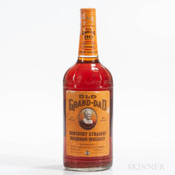 Old Grand Dad 4 Years Old, 1 1/2g bottle