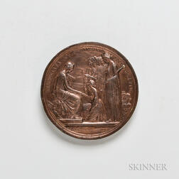 1851 Great Exhibition Copper Prize Medal