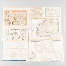 Forty-one Maps of the Mediterranean, Asia Minor, and Africa