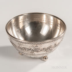 E.F. Caldwell & Co. Presentation Bowl