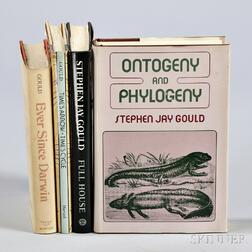 Gould, Stephen Jay (1941-2002) Four Titles, Some Signed and First Editions.