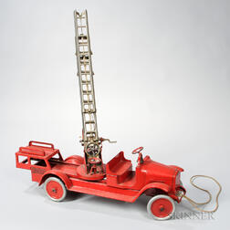 Buddy L Aerial Fire Engine Truck