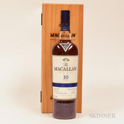 Macallan Sherry Oak 30 Years Old, 1 750ml bottle (owc)