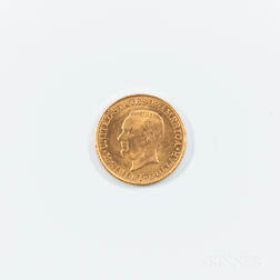 1916 McKinley Commemorative Gold Dollar.     Estimate $200-400